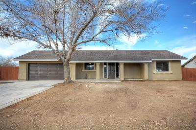 Victorville Single Family Home For Sale: 12640 Pacoima Road