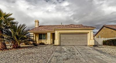 Adelanto Single Family Home For Sale: 11774 Poppy Road