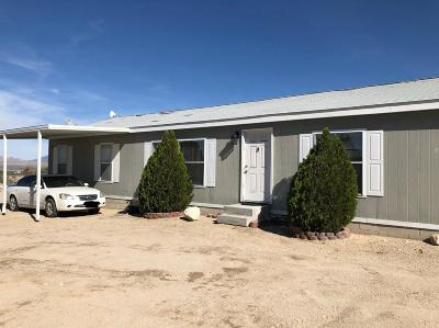 Lucerne Valley Single Family Home For Sale: 9673 Santa Fe Trail