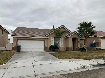 Barstow Single Family Home For Sale: 2251 Diamond Avenue