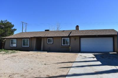 Apple Valley Single Family Home For Sale: 11773 Mohawk Road