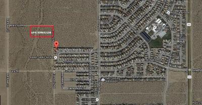 Victorville CA Residential Lots & Land For Sale: $125,000
