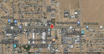 Apple Valley CA Commercial Lots & Land For Sale: $95,000