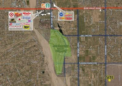 Apple Valley CA Residential Lots & Land For Sale: $32,500