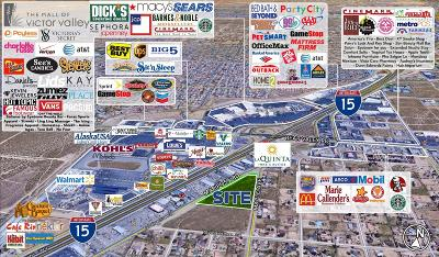 Hesperia CA Commercial Lots & Land For Sale: $1,665,000