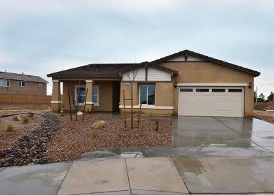 Victorville Single Family Home For Sale: 13359 Via Del Lago Road