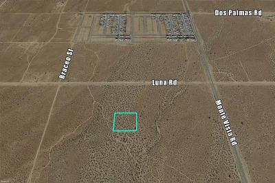 Victorville CA Residential Lots & Land For Sale: $49,000