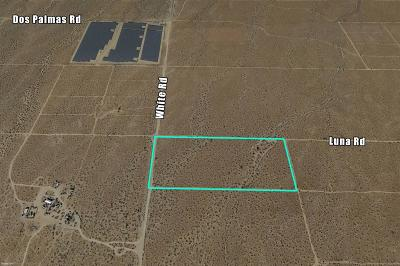 Victorville CA Residential Lots & Land For Sale: $130,000