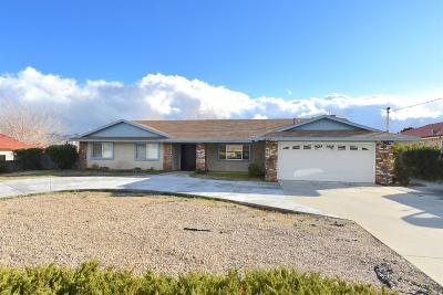 Hesperia Single Family Home For Sale: 18805 Westlawn Street