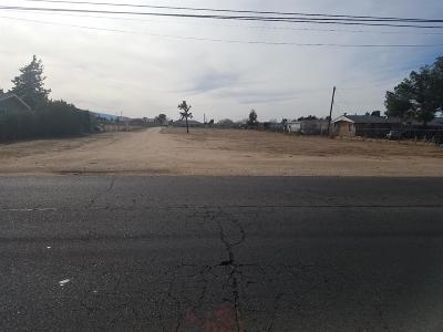 Hesperia CA Residential Lots & Land For Sale: $74,900