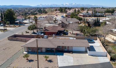 Hesperia Single Family Home For Sale: 8850 Camphor Avenue