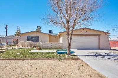 Apple Valley Single Family Home For Sale: 11590 Chimayo Road