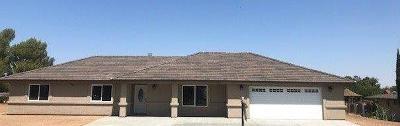 Hesperia Single Family Home For Sale: 14571 Mesquite Street