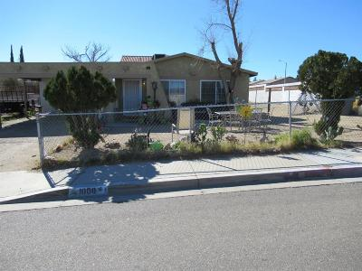 Barstow Single Family Home For Sale: 1000 Zion Drive