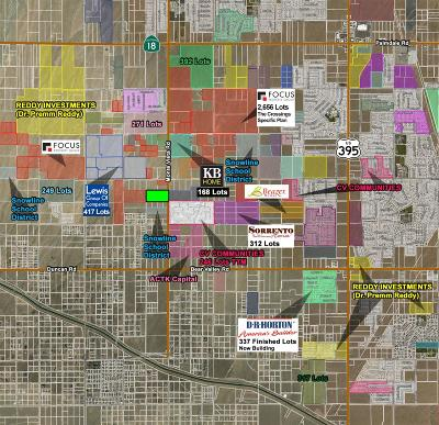 Victorville CA Residential Lots & Land For Sale: $498,000