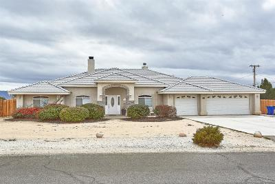 Apple Valley Single Family Home For Sale: 18585 Chapae Lane
