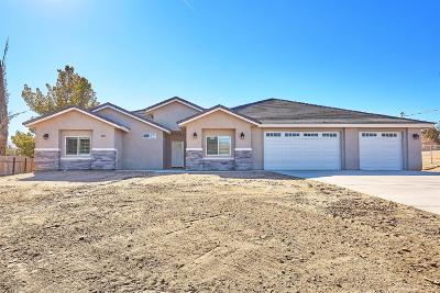 Hesperia Single Family Home For Sale: 8283 G Avenue