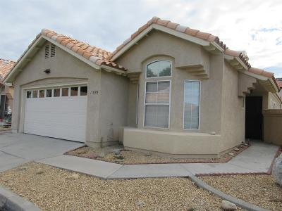 Apple Valley Single Family Home For Sale: 11535 Francisco Place