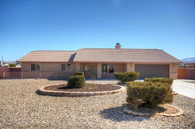 Apple Valley Single Family Home For Sale: 11999 Omak Road