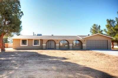 Apple Valley Single Family Home For Sale: 20811 Yucca Loma Road