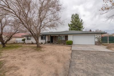 Hesperia Single Family Home For Sale: 18347 Hinton Street