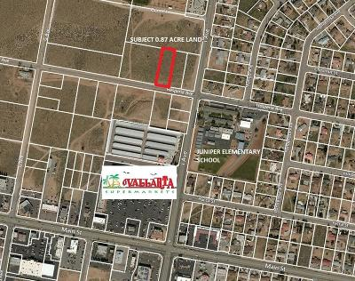 Hesperia CA Commercial Lots & Land For Sale: $69,000