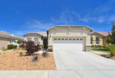 Apple Valley Single Family Home For Sale: 19458 Sunrise Road
