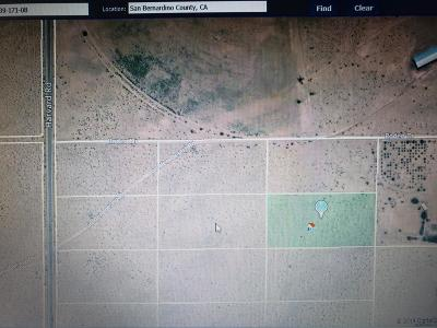 Newberry Springs Residential Lots & Land For Sale: Off Harvard Road