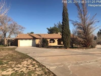 Hesperia Single Family Home For Sale: 10785 8th Avenue