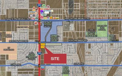 Victorville CA Commercial Lots & Land For Sale: $1,950,000