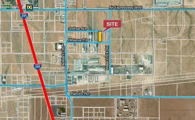 Adelanto Commercial Lots & Land For Sale: Hibiscus Road