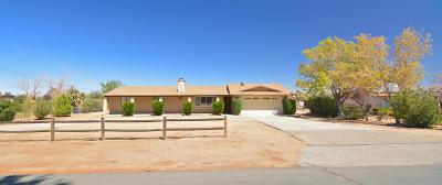 Hesperia Single Family Home For Sale: 18070 Capri Street