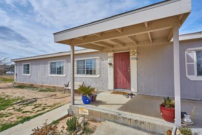 Phelan CA Single Family Home For Sale: $229,000