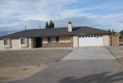 Apple Valley Single Family Home For Sale: 20560 Sholic Road
