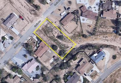 Hesperia CA Residential Lots & Land For Sale: $30,000