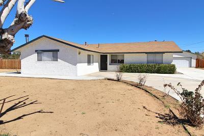 Apple Valley Single Family Home For Sale: 14205 Havasu Road