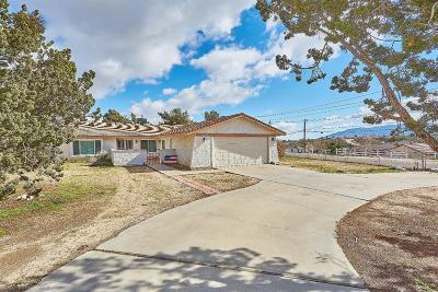 Hesperia Single Family Home For Sale: 16936 Sage Street