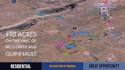 Apple Valley Residential Lots & Land For Sale: Quinnault Road