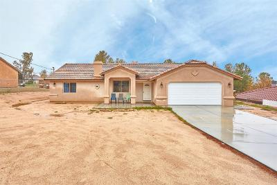 Hesperia Single Family Home For Sale: 16830 Cactus Street