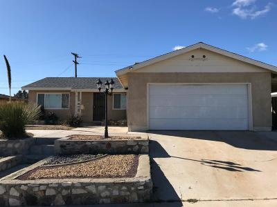 Barstow Single Family Home For Sale: 650 Kelly Drive