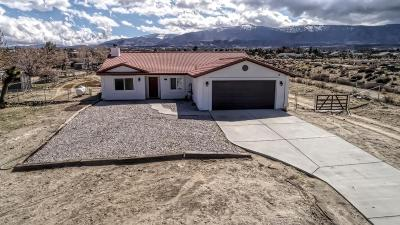 Pinon Hills Single Family Home For Sale: 1063 Mono Road