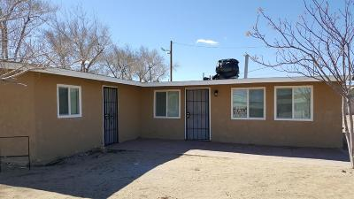 Barstow Single Family Home For Sale: 1430 Sage Drive
