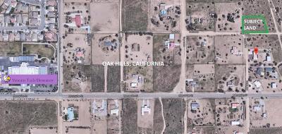 Oak Hills Residential Lots & Land For Sale: 0 Cactus Street