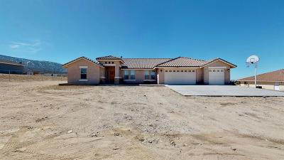 Pinon Hills Single Family Home For Sale: 10566 Ponderosa Road