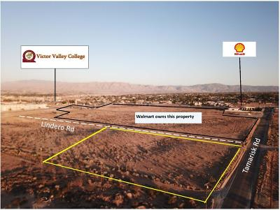 Victorville Commercial Lots & Land For Sale: Lindero Road