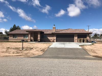 Hesperia Single Family Home For Sale: 8478 Temecula Avenue