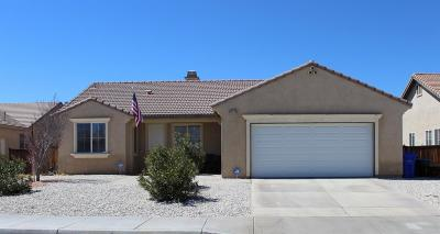 Adelanto Single Family Home For Sale: 14530 Chippendale Circle