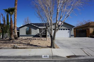 Barstow Single Family Home For Sale: 460 Emerald Street