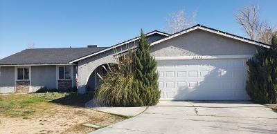 Apple Valley Single Family Home For Sale: 20796 Sholic Road
