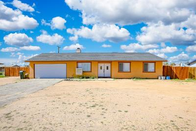 Apple Valley Single Family Home For Sale: 16576 Pawnee Road
